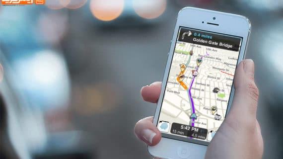 مسیریابی آسان با اپلیکیشن Waze آیفون