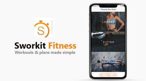 اپلیکیشن تمرینات ورزشی برای آیفون Sworkit