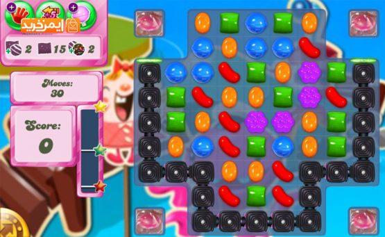 بازی آبنبات Candy Crush Saga برای آیفون