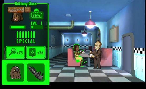 بازی ماجراجویی Fallout Shelter iPhone
