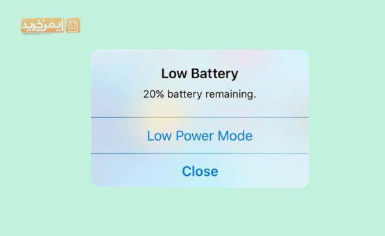 دلایل خالی شدن باتری موبایل