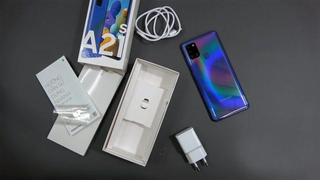 گوشی موبایل سامسونگ مدل A21s حافظه 64