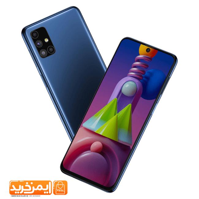 گوشی موبایل سامسونگ Galaxy M51 دو سیم کارت ظرفیت 128گیگابایت