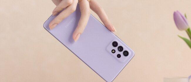 گوشی موبایل سامسونگ مدل A72 دو سیمکارت ظرفیت 256 گیگابایت و رم 8 گیگابایت