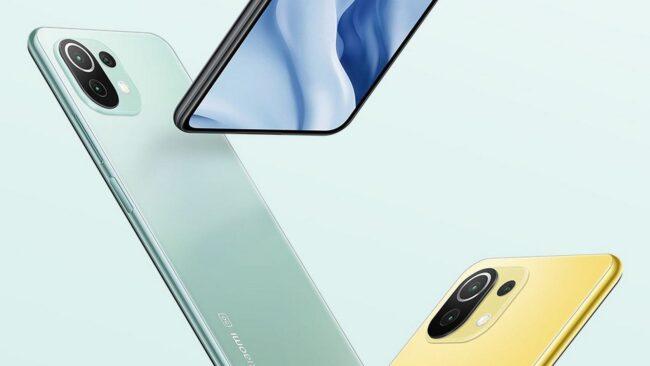گوشی موبایل شیائومی مدل Mi 11 Lite 4G دو سیم کارت ظرفیت 128 گیگابایت و 6 گیگابایت رم