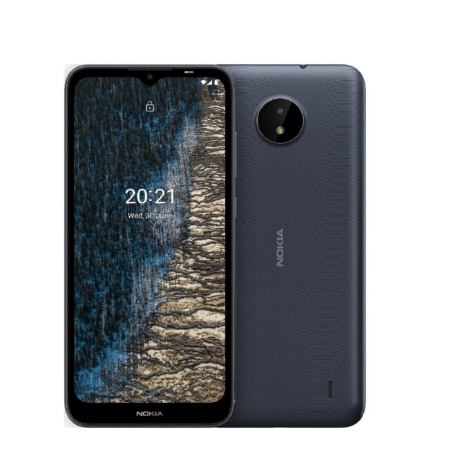 گوشی موبایل نوکیا مدل C20 دو سیمکارت ظرفیت 32 گیگابایت و رم 2 گیگابایت